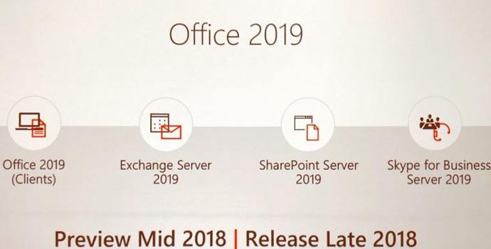 Microsoft anunciou o Office 2019